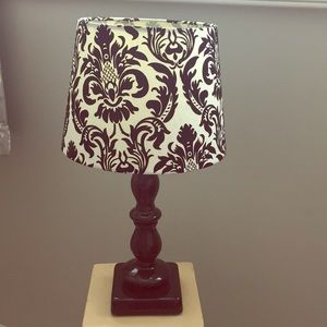 Other - Vintage style lamp and embossed shade
